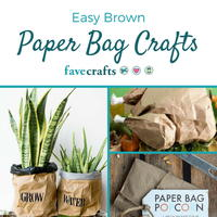 20+ Brown Paper Bag Crafts