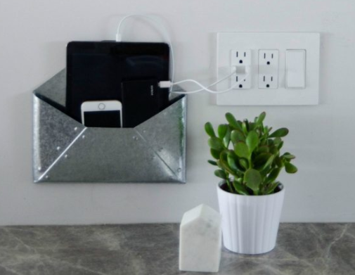 Wall Mounted Diy Charging Station Diyideacenter Com