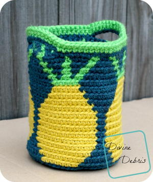 Practical Pineapples Basket