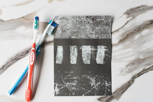 Prettiest Toothbrush Art Paper Craft