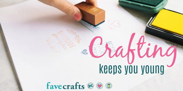 Crafting Keeps You Young