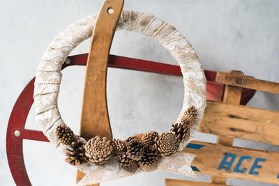 Pinecone Wreath Craft
