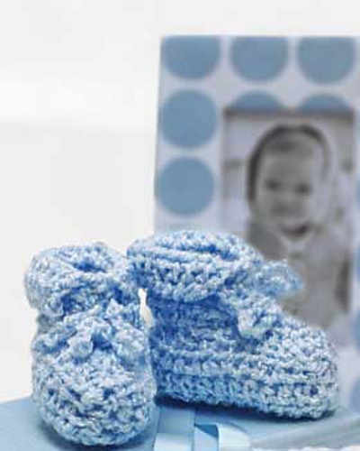 Baby Shower Booties Allfreecrochet Com