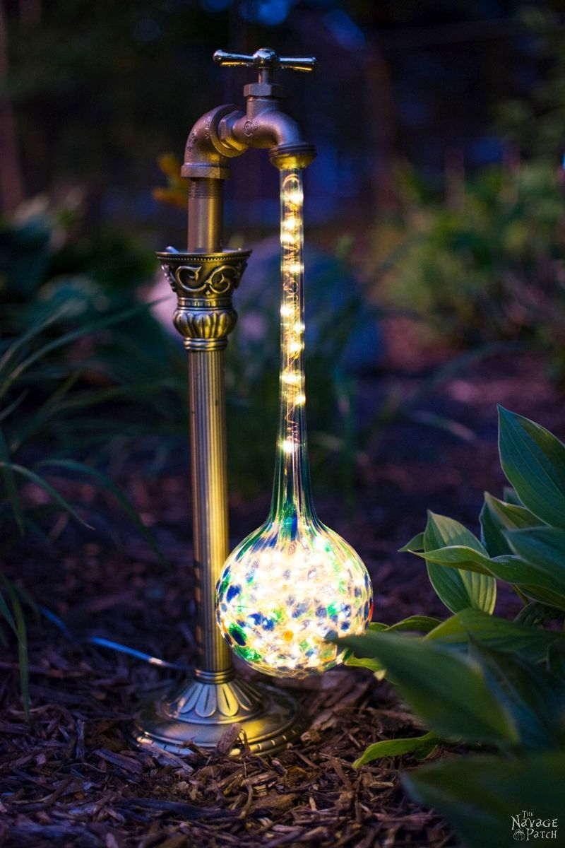 Diy Waterdrop Solar Lights Diyideacenter Com