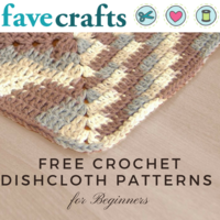 18 Free Crochet Dishcloth Patterns for Beginners