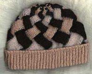 Lady s Entrelac Hat  d3385471e8e