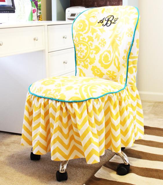 Elegant Office Diy Chair Slipcover Allfreesewing Com