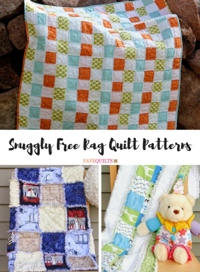 35 Snuggly Free Rag Quilt Patterns Favequilts Com