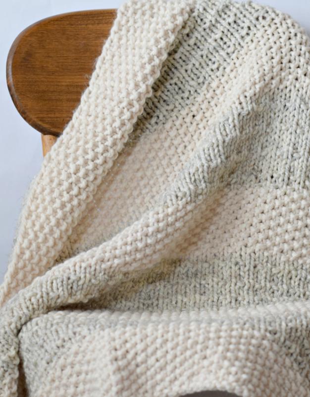 Easy Heirloom Knit Blanket Pattern | AllFreeKnitting.com