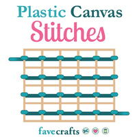 8 Plastic Canvas Stitches
