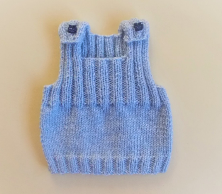 Ribbed Knit Baby Vest Pattern Allfreeknitting Com