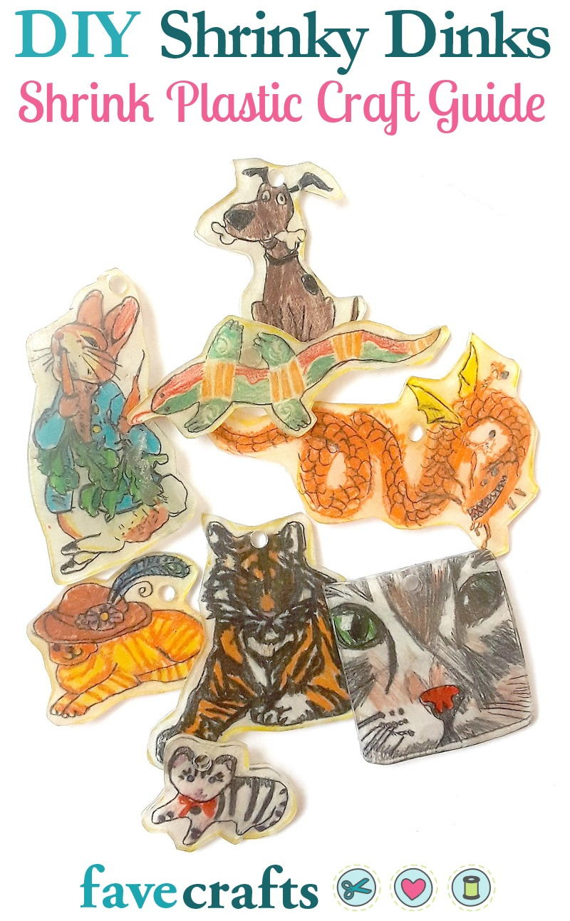 DIY Shrinky Dinks A Shrink Plastic