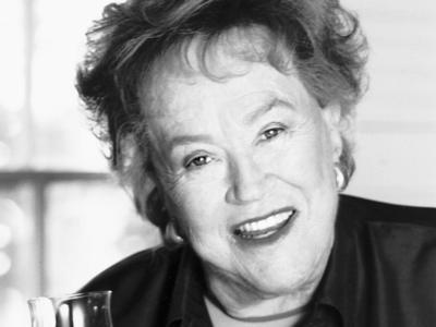 Julia Child's Headshot