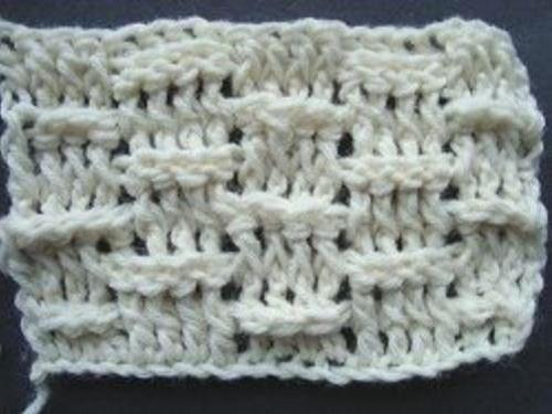 how to do basket weave crochet stitch
