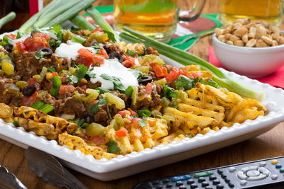 Really Loaded Nacho Fries