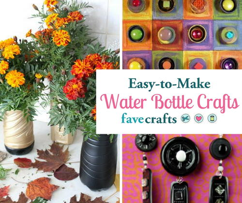 25 Easy Water Bottle Crafts Diy Decor And More