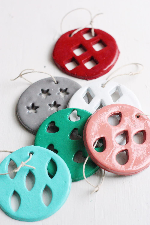 Whimsical Diy Clay Ornaments Allfreeholidaycrafts Com
