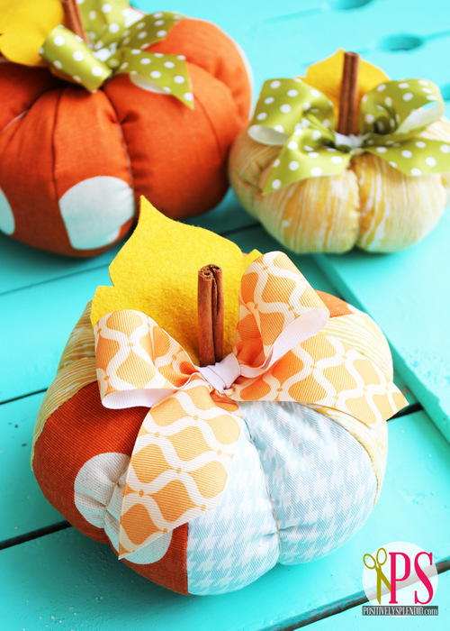 Plush Patchwork Pumpkins Allfreesewing Com