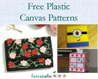 25 Free Patterns for Plastic Canvas