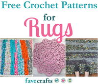 17 Free Crochet Patterns for Rugs