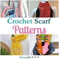 33 Crochet Scarf Patterns