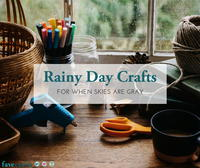 10 Rainy Day Crafts for Grey Skies