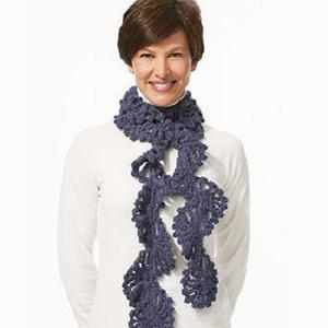 Twist Scarf Crochet Pattern