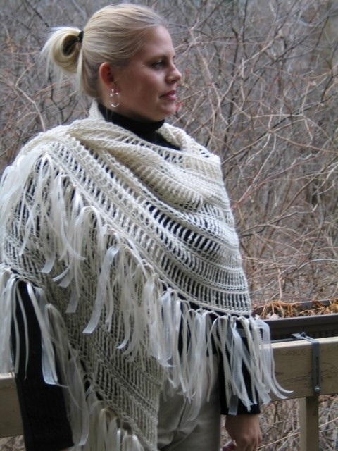 Crochet Angel Shawl