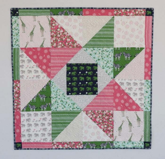 Patchwork Star Baby Quilt Tutorial Favequilts Com