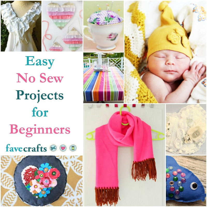 56 Easy No Sew Projects For Beginners Favecrafts Com