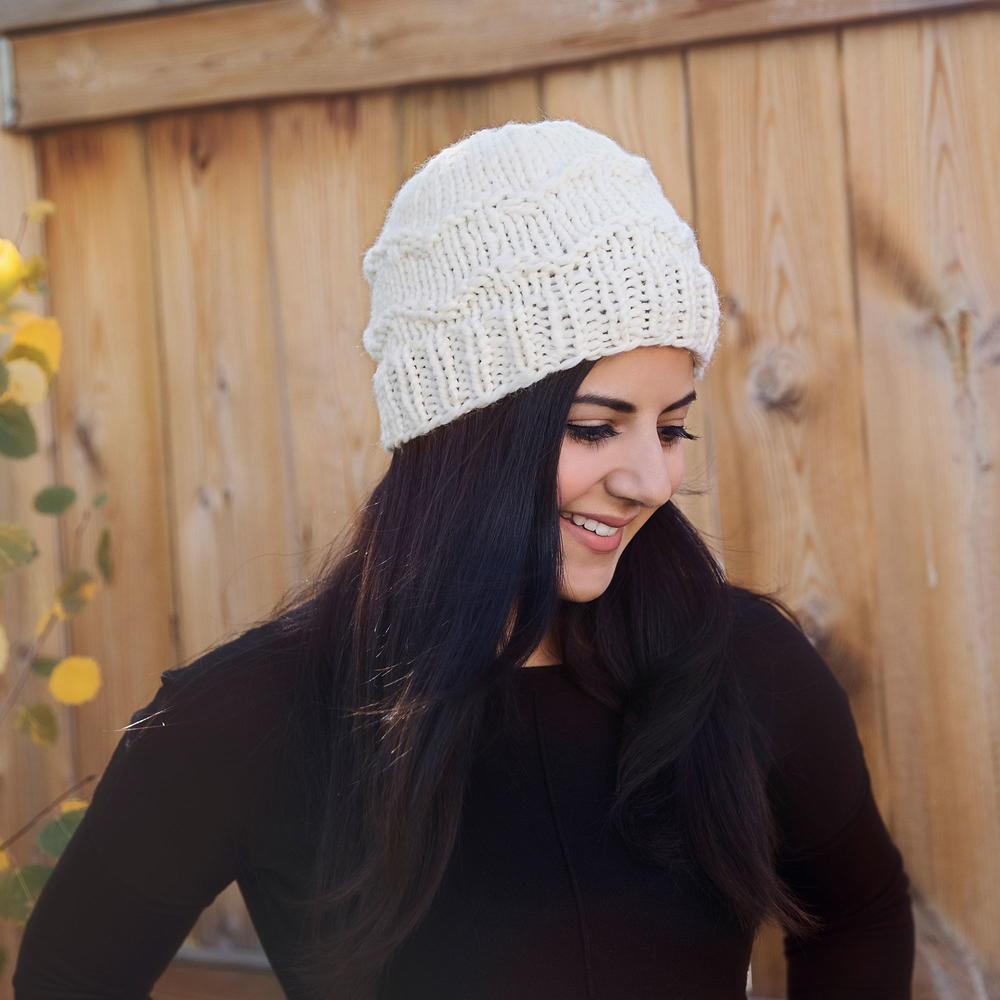 1c019f4edd0e83 World's Coziest Winter Hat   AllFreeKnitting.com
