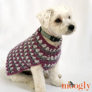 Well Dressed Dog Crochet Coat