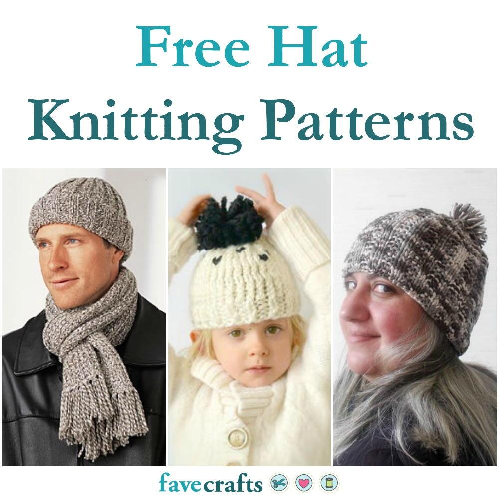27 Free Hat Knitting Patterns | FaveCrafts.com