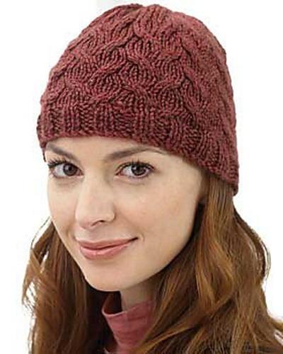 Soft Cable Free Hat Knitting Pattern  6e6d4b0f968