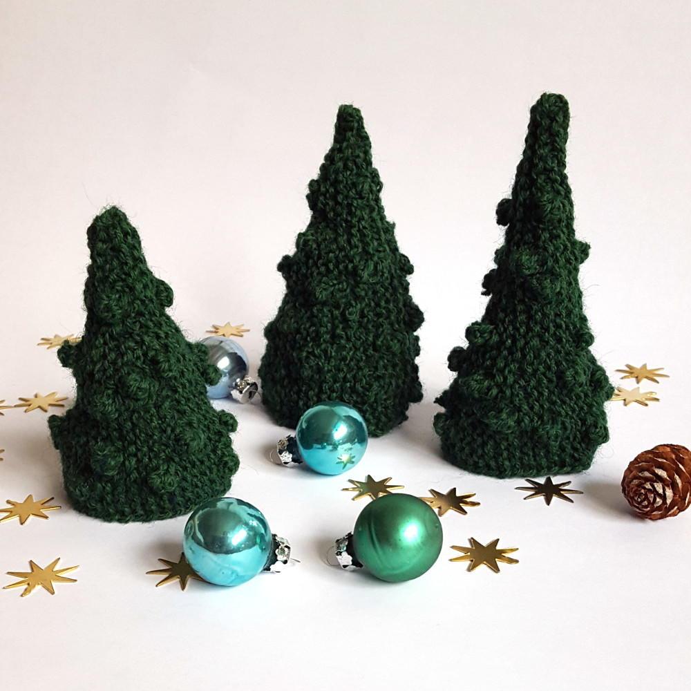 Knitting Pattern Christmas Tree