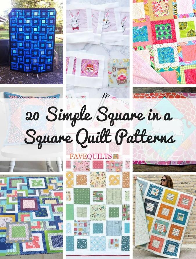 Simple Square Quilt
