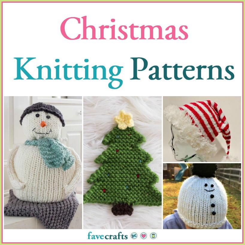 47 Christmas Knitting Patterns   FaveCrafts.com
