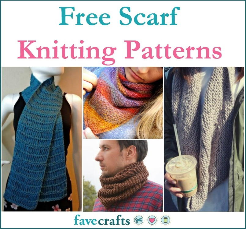 59 Free Scarf Knitting Patterns Favecrafts Com