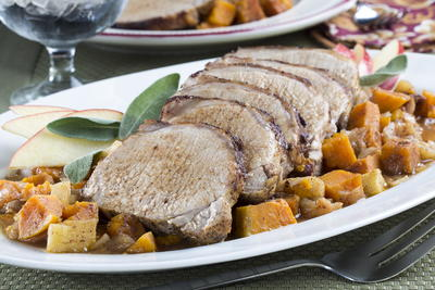 Cinnamon-Apple Pork Loin