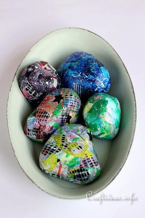 Artistic Rocks Painting Craft