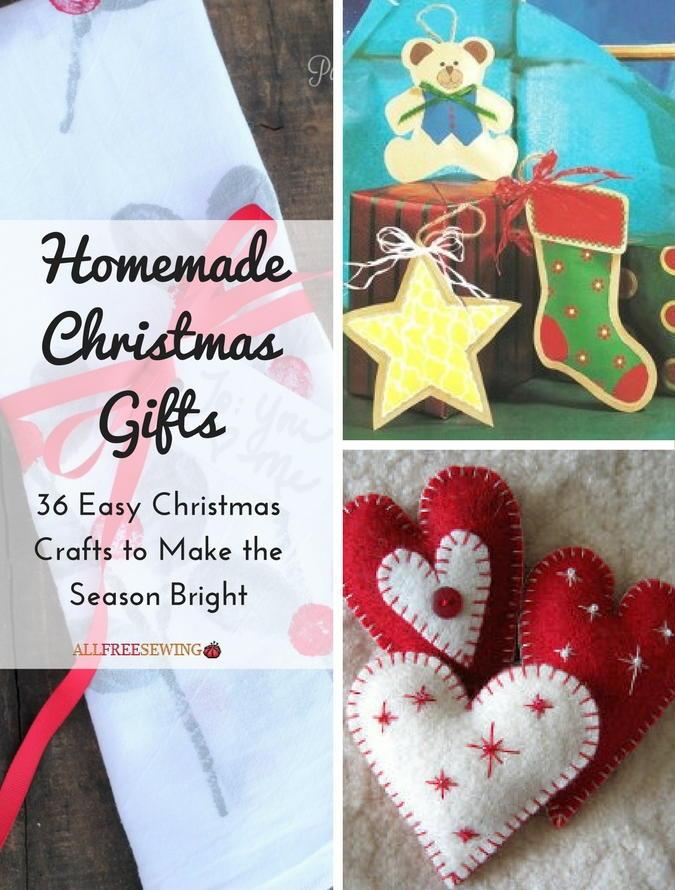 Homemade Christmas Gifts 36 Easy Christmas Crafts To Make