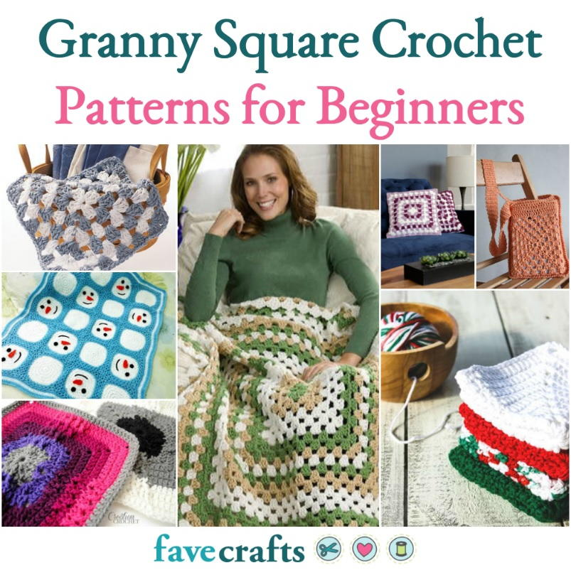 image about Free Printable Crochet Granny Square Patterns known as 58 Granny Sq. Crochet Models for Novices