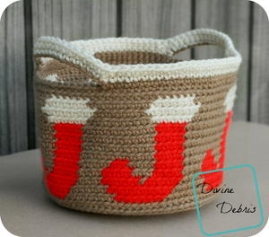 Joyful Stockings Basket