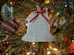 Bell Ornament/Gift Card Holder