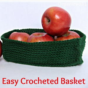 Easy Crochet Basket