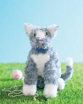 Kitten Toy Knitting Pattern