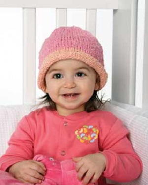 Stretchy Baby Hat Knitting Pattern