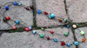 Colorful Bead and Knot Necklace