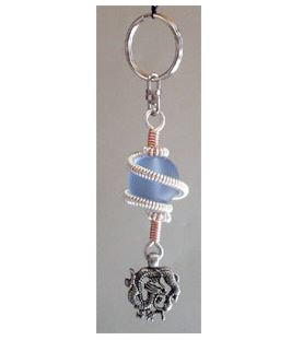 Coiled Wire Key Ring