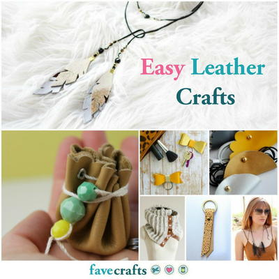 39 Easy Leather Crafts